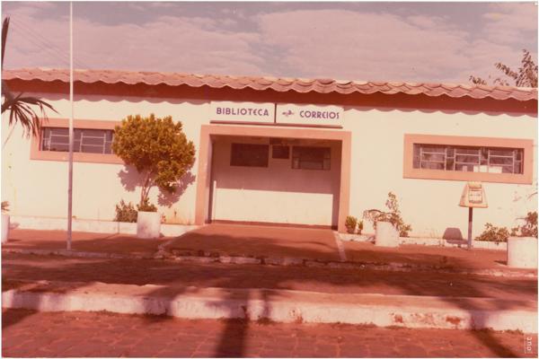 Biblioteca Pública : Correios : Aloândia, GO - 1983