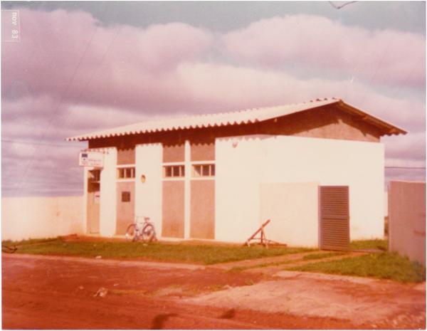 Posto telefônico da Telegoiás : Aporé, GO - 1983