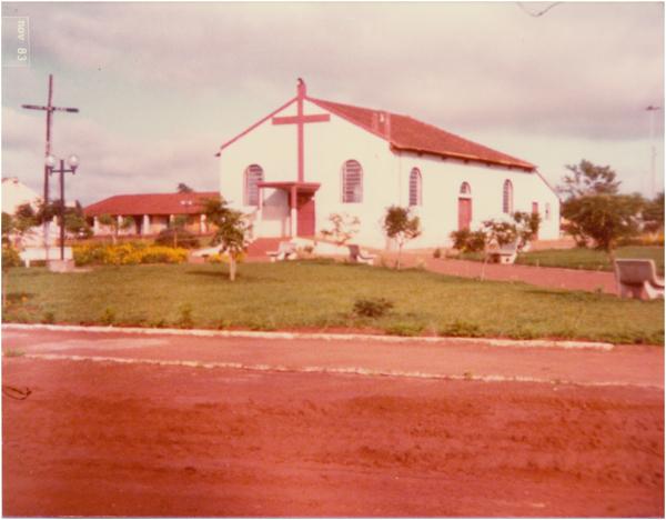 Capela de Santo Agostinho : Aporé, GO - 1983