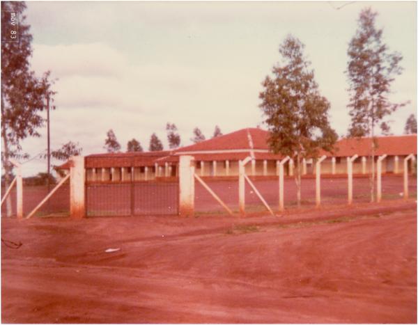 Colégio Estadual José Ludovico de Almeida : Aporé, GO - 1984