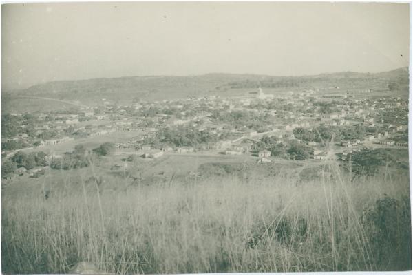 Vista panorâmica da cidade : Anicuns, GO - [19--]