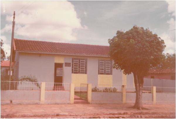 Posto de Saúde Municipal : Campestre de Goiás, GO - 1984