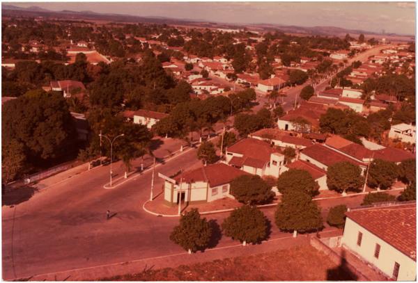 Vista panorâmica da cidade : Goianésia, GO - 1983
