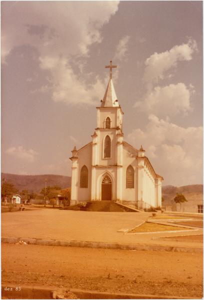 Igreja Matriz : Hidrolina, GO - 1983