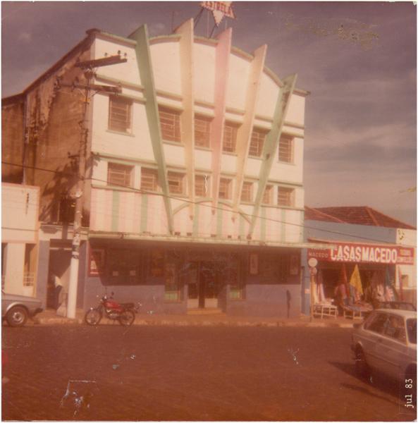 Cine Estrela : Ipameri, GO - 1983