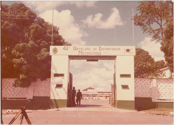 41° Batalhão de Infantaria Motorizado : Ipameri, GO - [19--]