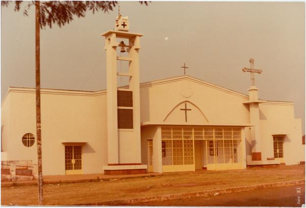 Igreja Matriz de São Sebastião : Itaguaru, GO - 1983