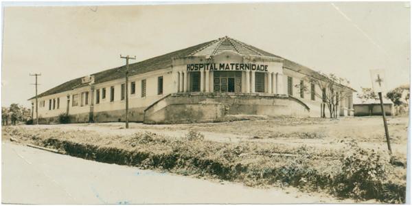 Hospital e Maternidade Jaraguá : Jaraguá, GO - [19--]