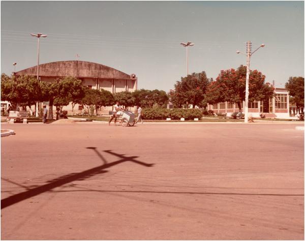 Praça Estevam Rebouças : Jussara, GO - [19--]