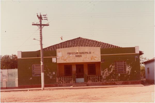 Prefeitura Municipal : Mambaí, GO - 1983