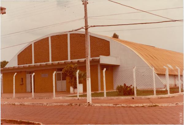 Ginásio de esportes : Nerópolis, GO - 1983