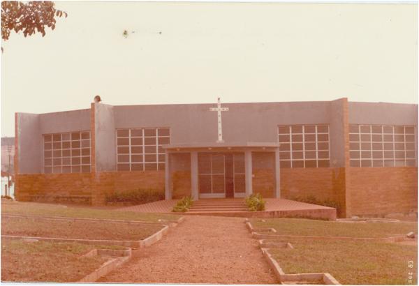 Igreja de São Sebastião : Ouro Verde de Goiás, GO - 1983