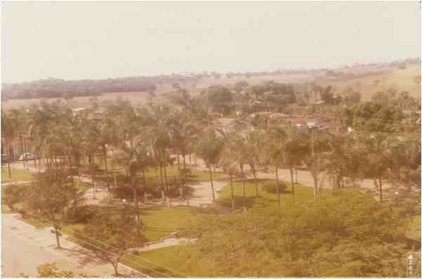 Praça Albiner Teixeira Rosa : Palminópolis, GO - 1984