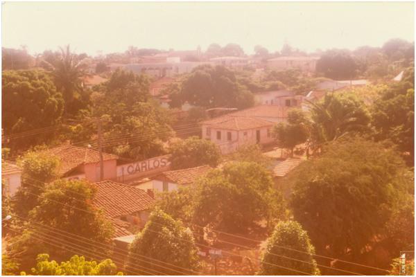 [Vista panorâmica da cidade] : Palminópolis, GO - 1984