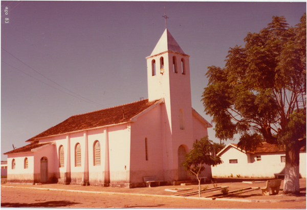 Igreja Santo Antônio : Ouvidor, GO - 1983