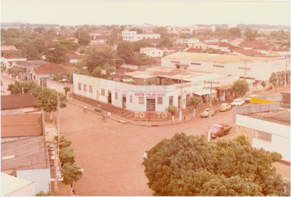 Vista parcial da cidade : Palmeiras de Goiás, GO - 1983