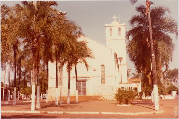Igreja Matriz São Sebastião : Palmeiras de Goiás, GO - 1983