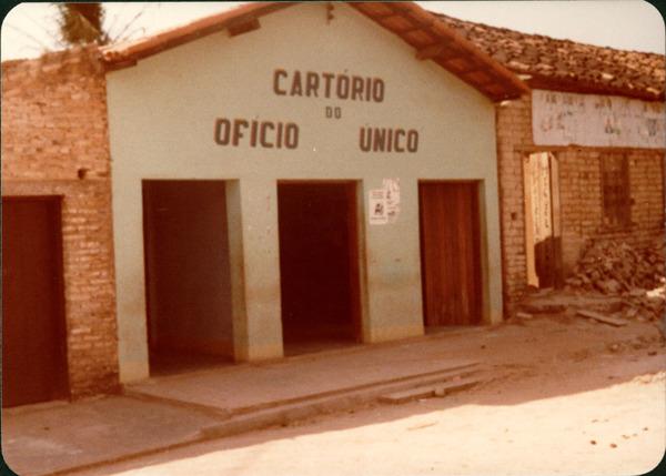 Cartório do ofício único : Amarante do Maranhão, MA - [19--]