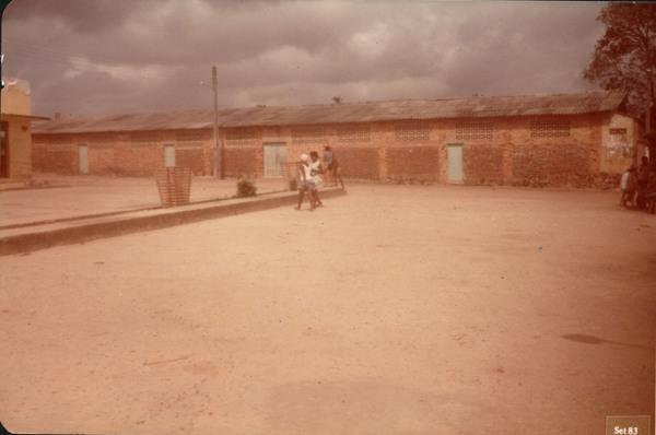 Salão paroquial : Bacuri, MA - 1983