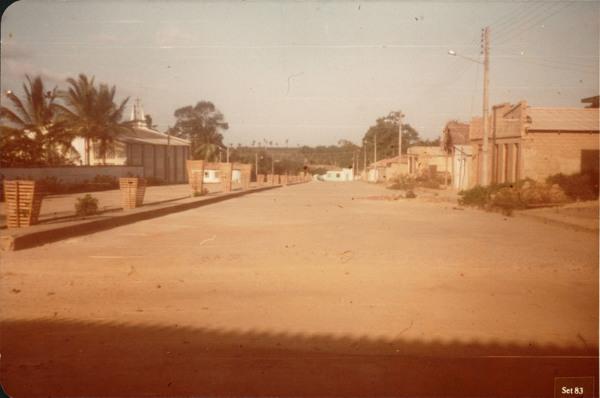 Avenida Presidente Ernesto Geisel : Bacuri, MA - 1983