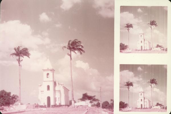 Igreja Matriz de Nossa Senhora das Mercês : Cajapió, MA - 1983