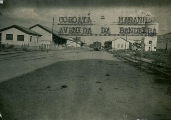 Avenida da Bandeira : Coroatá, MA - [19--]
