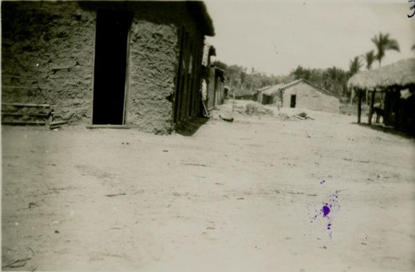 Vista parcial do povoado de Palmeiral : Esperantinópolis, MA - [19--]