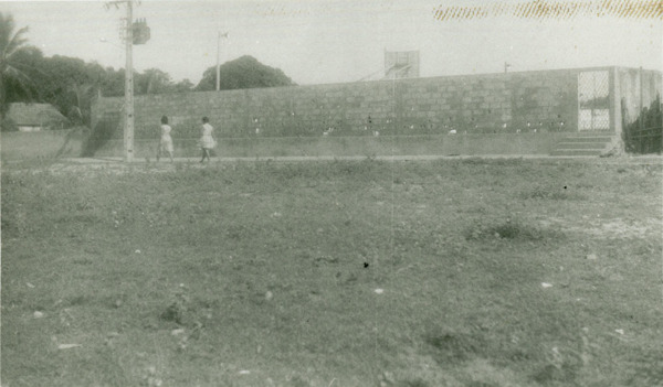 Quadra de esportes : Magalhães de Almeida, MA - [19--]