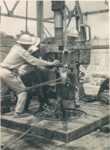 Poço de petróleo : Mirador, MA - [19--]