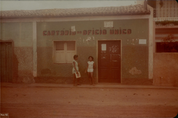 Cartório do Ofício Único : Mirinzal, MA - 1983