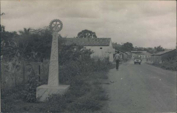 Entrada da cidade : Pedreiras, MA - 1968