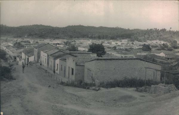 Vista panorâmica da cidade : Pedreiras, MA - 1968