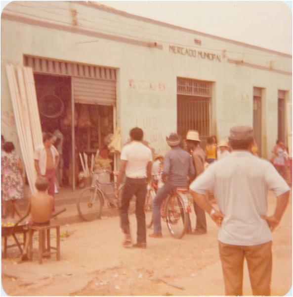 Mercado Municipal : Poção de Pedras, MA - [19--]