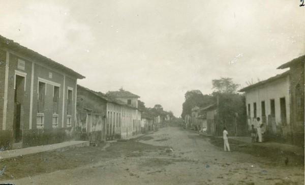 Vista parcial da cidade : São Bento, MA - [19--]