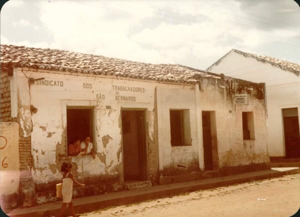 Sindicato dos Trabalhadores de São Bernardo : São Bernardo, MA - [19--]