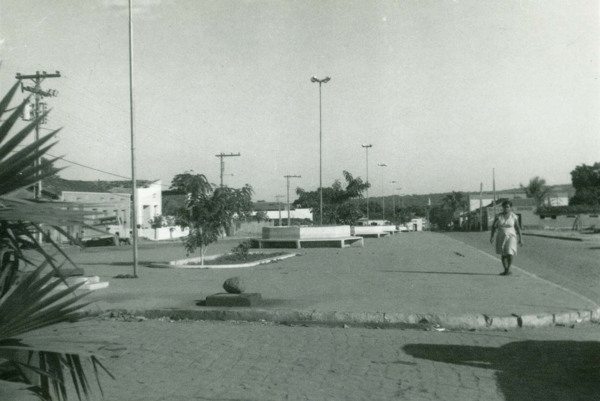 Praça Eurico Santos : São João dos Patos, MA - [19--]