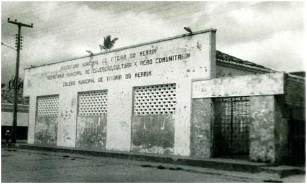 Colégio Municipal Ana Bogéa Gonçalves : Vitória do Mearim, MA - [19--]