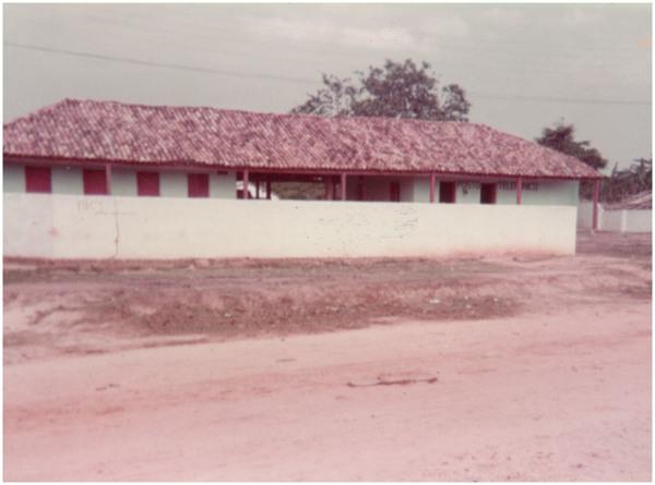 Escola Rural : posto telefônico : Tasso Fragoso, MA - [19--]