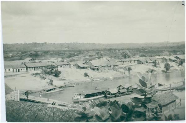 Vista panorâmica da cidade : Trizidela do Vale, MA - [19--]