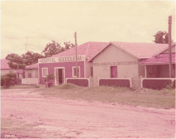 Hospital Bodoquena : Escola Municipal de Corte e Costura : Bodoquena (MS) - 1985