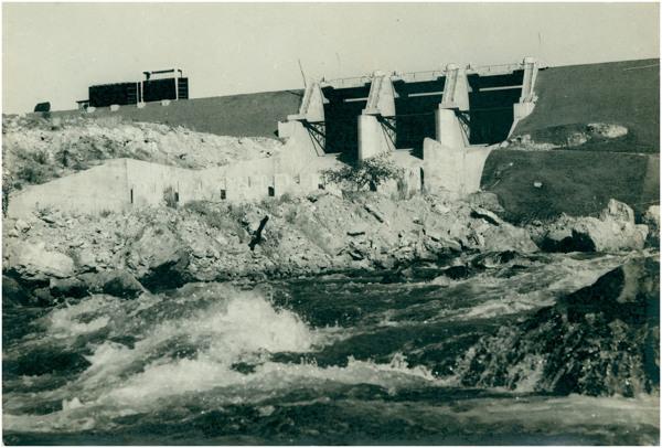 Usina Hidrelétrica do Rio da Casca : Chapada dos Guimarães, MT - [19--]