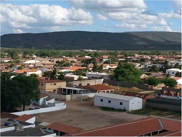 [Vista panorâmica da cidade] : Inajá, PE - 2014