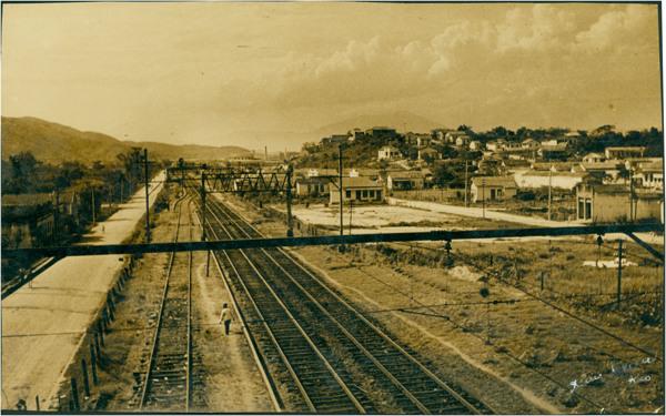 Estação de Nilópolis : [vista panorâmica da cidade] : Nilópolis, RJ - [19--]