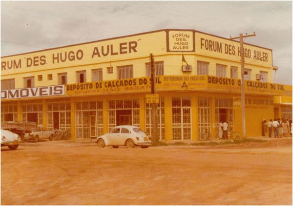 Rondomóveis : Depósito de calçados do sul : Fórum Des. Hugo Auler : Ji- Paraná, RO - [19--]