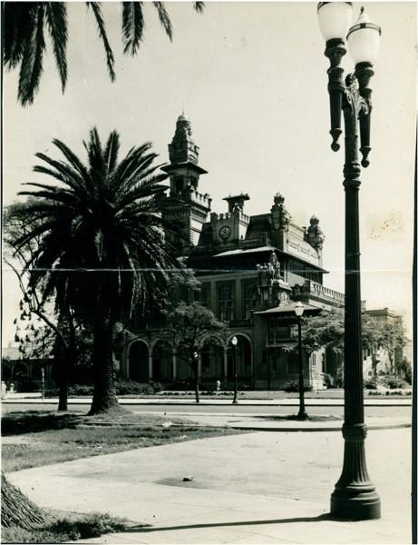 [Parque Dom Pedro II : Palácio das Indústrias] : Assembleia Legislativa : São Paulo, SP - 1953