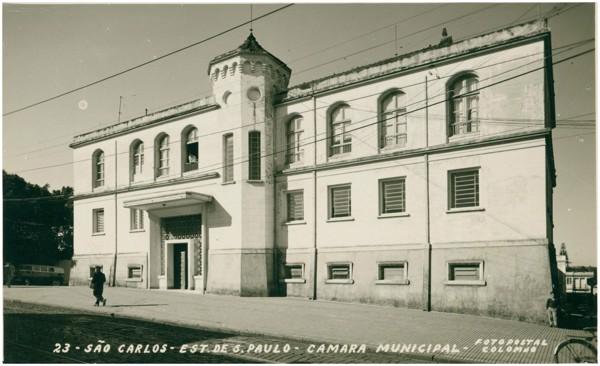 Câmara Municipal : São Carlos, SP - [19--]