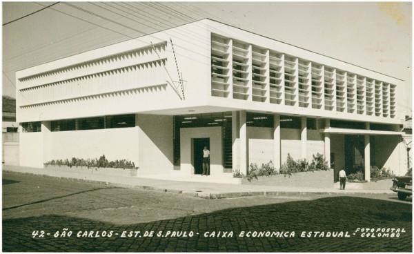 Caixa Econômica [do Estado de São Paulo] : São Carlos, SP - [19--]