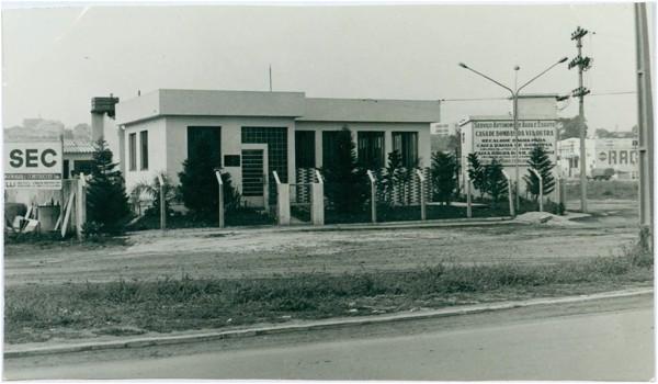Vista parcial da cidade : Guarulhos, SP - 1969