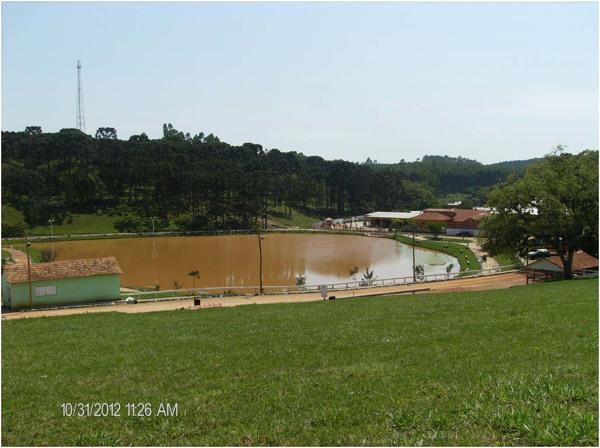 Lago : [vista parcial da cidade] : Bom Sucesso de Itararé, SP - 2012