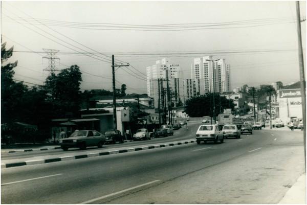 Vista panorâmica da cidade : Taboão da Serra, SP - [19--]